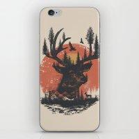 Look Deep Into Nature iPhone & iPod Skin