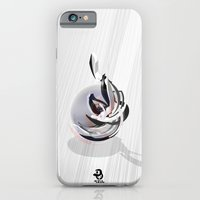"iPhone & iPod Case featuring 3d graffiti - sphere by ""ondbiqp"""