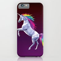 Geometric Unicorn iPhone 6 Slim Case