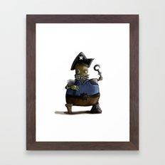 Iso, the Fat Captain Framed Art Print