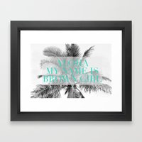 Aloha, My Name Is Framed Art Print