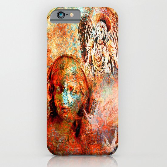 The annonciation of the archangel Gabriel to the Virgin Mary iPhone & iPod Case