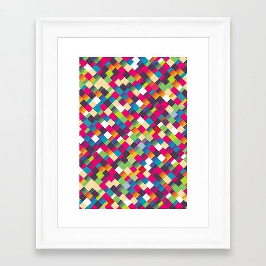 Sweet Pattern Framed Art Print