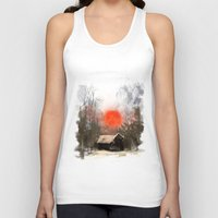 Winter Landscape Unisex Tank Top