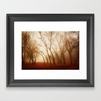 Red Earth Framed Art Print