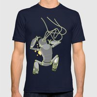 Quantum Magic Mens Fitted Tee Navy SMALL