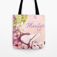 Falling For Marilyn Tote Bag