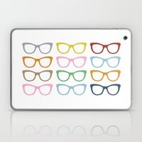 Glasses #4 Laptop & iPad Skin