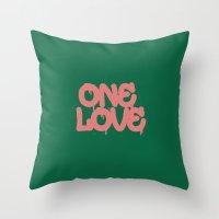 ONELOVE Throw Pillow