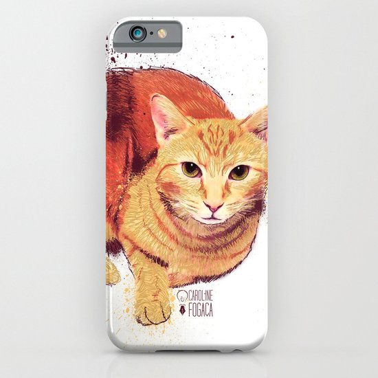 Ginger Cat iPhone & iPod Case