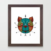 BEAR BEAR Framed Art Print