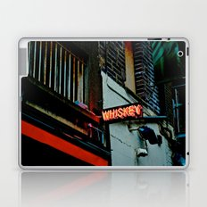 Back Alley Whiskey Laptop & iPad Skin