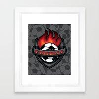 Team Fireball Framed Art Print