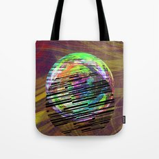 Marble Barcode Tote Bag