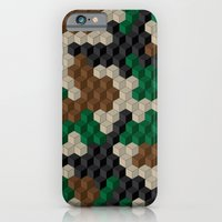 iPhone & iPod Case featuring Cubouflage by Oreezy