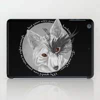 fox and crow  iPad Case