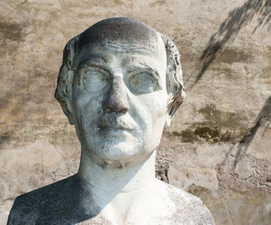 Ancient R0man male sculpture Art Print