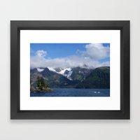 Alaskan Voyage Framed Art Print