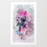 Sensitivity Art Print