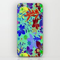 Flowers Explosion iPhone & iPod Skin