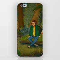 Chilling in the Woods iPhone & iPod Skin