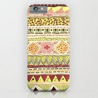 Pizza Pattern iPhone 6 Slim Case