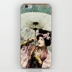 Japanese snow queen iPhone & iPod Skin