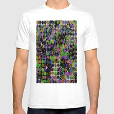 256 Textures II Mens Fitted Tee White SMALL