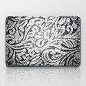 Black and White Paisley iPad Case