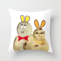 couple Throw Pillow