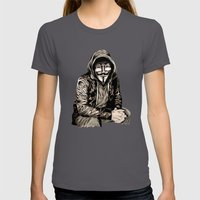 Anonymous Gangster Womens Fitted Tee Asphalt SMALL