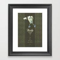 Bloochy Framed Art Print