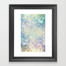 BokehField Framed Art Print