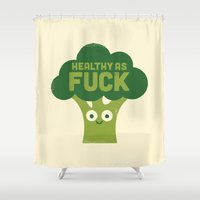 Raw Truth Shower Curtain