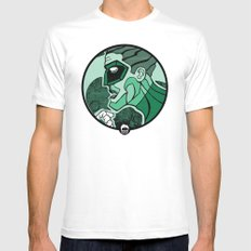 Emerald Flashlight Mens Fitted Tee White SMALL