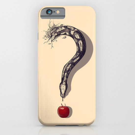 Curious Temptation iPhone & iPod Case