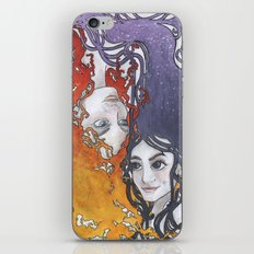 Antara and Meridian: Fire and Darkness iPhone & iPod Skin