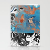 Marble Inversion Stationery Cards