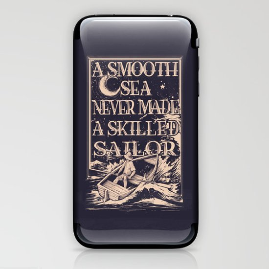 A Smooth Sea iPhone & iPod Skin