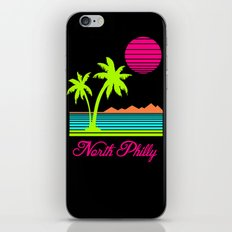 Tropical North Philly iPhone & iPod Skin