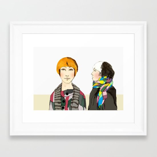 Robots in Disguise Framed Art Print