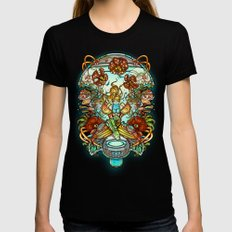 Maternal Instinct Womens Fitted Tee Black SMALL