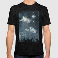 The Cloud Stealers Mens Fitted Tee Tri-Black SMALL