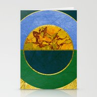 Abstract #122 Stationery Cards