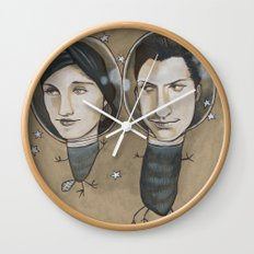 Outer Face Wall Clock
