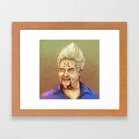 Majin Fieri Framed Art Print