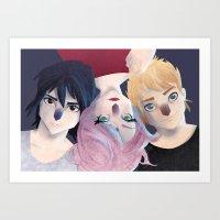 Immortals Art Print