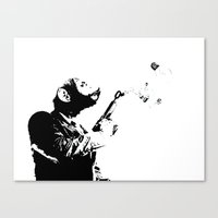 Thought Police 2 Canvas Print