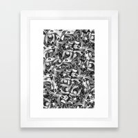Eyes 4 Eyes Framed Art Print
