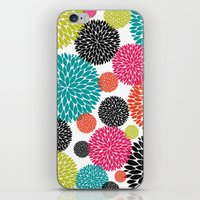 Tropical Flowers iPhone & iPod Skin